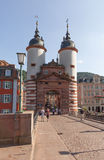 Heidelberg Old Bridge Royalty Free Stock Images