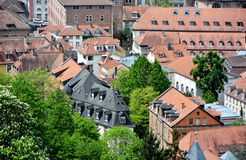Heidelberg old town(Alstadt) Royalty Free Stock Images