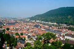 Heidelberg Old Town City Scape Stock Photo