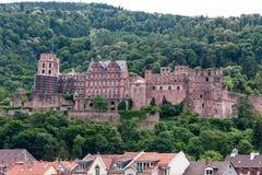 Heidelberg old town in Germany Royalty Free Stock Image