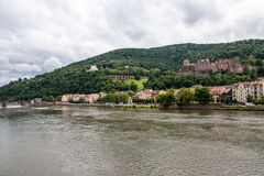 Heidelberg old town in Germany Royalty Free Stock Photos