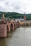 Heidelberg old town in Germany Royalty Free Stock Images