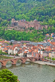 Heidelberg old town, Germany Royalty Free Stock Photography