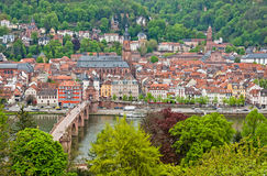 Heidelberg old town, Germany Stock Photography