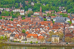 Heidelberg old town, Germany Stock Images