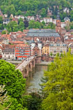 Heidelberg old town, Germany Stock Photos