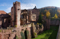 Heidelberg palace Stock Photos