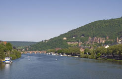 Heidelberg Panorama Stock Photography