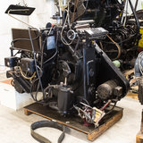 Heidelberg Printing Press Royalty Free Stock Photography