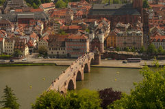 Heidelberg's view from above, Germany Stock Image