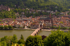 Heidelberg's view from above, Germany Stock Photo