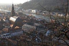 Heidelberg-Schloss Lizenzfreie Stockbilder