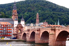 Heidelberg-Schloss in Deutschland Stockbilder