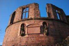Heidelberg-Schloss in Deutschland Stockfotografie