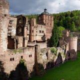 Heidelberg-Schloss, Deutschland stockfoto