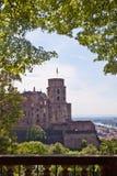 Heidelberg-Schloss, Deutschland Stockbild