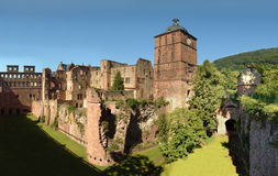 Heidelberg-Schloss, Deutschland Lizenzfreies Stockbild