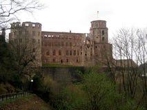 Heidelberg-Schloss, in Deutschland, Europa lizenzfreie stockbilder