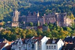 Heidelberg slott i Tyskland royaltyfri foto