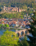 Heidelberg at spring Royalty Free Stock Image