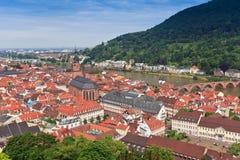 Heidelberg stad Arkivfoto