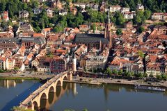 Heidelberg, Germany Small German Town royalty free stock photography