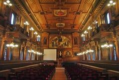 """Heidelberg Tyskland†""""December 12, 2013 Den stora Hallen av det Heidelberg universitetet på December 12, 2013 Arkivfoton"""
