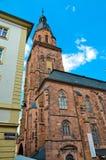 Heidelberg, um steeple 1 da igreja imagem de stock royalty free