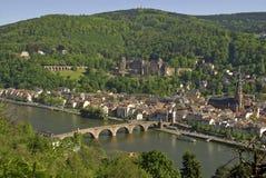 Heidelberg vieja Imagen de archivo libre de regalías
