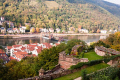 Heidelberg view Royalty Free Stock Image