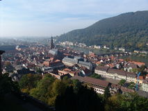 Heidelberg Vista Photo libre de droits