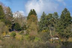 Heidelberg wakacyjne chałupy, Niemcy Fotografia Royalty Free