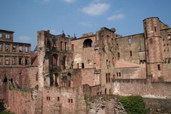 Heidelberg zamku Fotografia Royalty Free