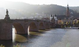 Heidelberger bridge in the morning Stock Photography