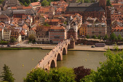 Heidelberger Old Bridge, summer 2010 Royalty Free Stock Photography