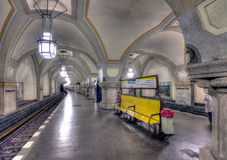 Heidelberger Platz U-Bahn Stock Images