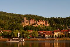 Heidelberger Schloss, Castle, summer 2010 Stock Image