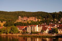 Heidelberger Schloss, Castle, summer Stock Photo