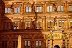 Heidelberger Schloss, Kasteel, de zomer van 2010 Royalty-vrije Stock Afbeelding