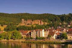 Heidelberger Schloss, Kasteel, de zomer van 2010 Stock Foto's