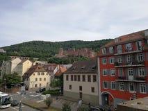 Heidelberger Schloss, kasteel van Heidelberg, Duitsland royalty-vrije stock fotografie