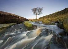Heidemoorwasserfall Lizenzfreies Stockfoto