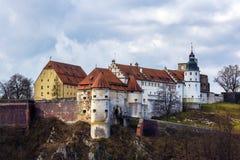 Heidenheim een der Brenz, Schloss Hellenstein Stock Afbeeldingen