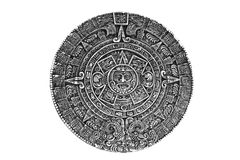 Heidens ornament een zonsteen stock foto's