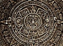 Heidens ornament een zonsteen stock fotografie