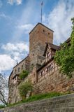 Heidense Toren, Nuremberg, Duitsland royalty-vrije stock foto's