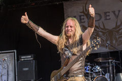 Heidevolk σε Metalfest 2015 Στοκ φωτογραφία με δικαίωμα ελεύθερης χρήσης