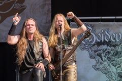 Heidevolk chez Metalfest 2015 Image stock