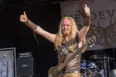 Heidevolk chez Metalfest 2015 Photographie stock libre de droits