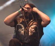 Heidevolk folk metal band live in concert 2016 Stock Images